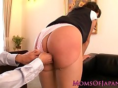 asian girl spanked